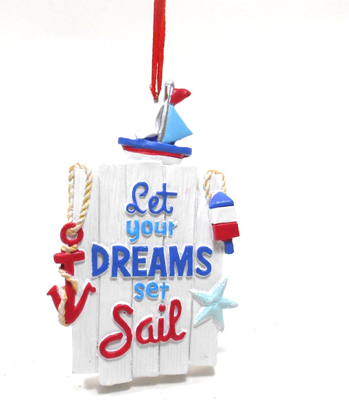 Let Your DREAMS set Sail Ornament by Midwest-CBK 133804