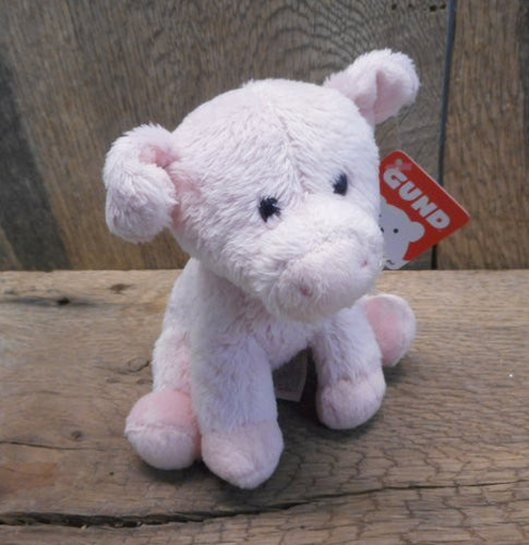 Pink Pig Animal Chatter Mini Pink Pig Plush with Sound by Gund