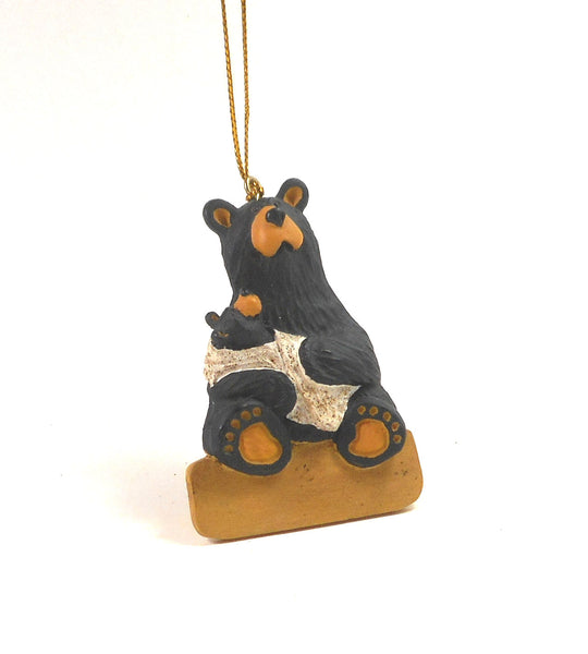 Bearfoot New Momma Ornament by Big Sky Carvers 30150780