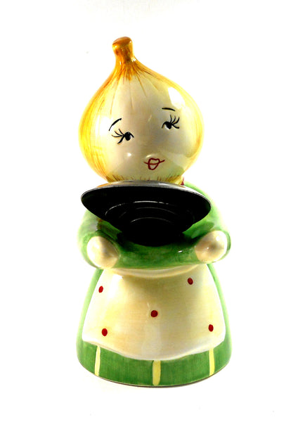 Kitschy Onion Girl Measuring Spoon Holder by Midwest-CBK