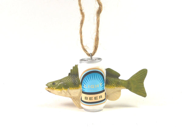 Light Beer Fishing Ornament by Midwest-CBK