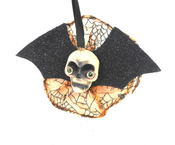 Joe Spencer Bat Skull Halloween Ornament by Gallarie II