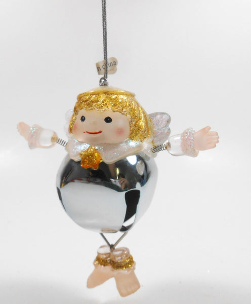 Seasons of Cannon Falls Bell Angel Ornament