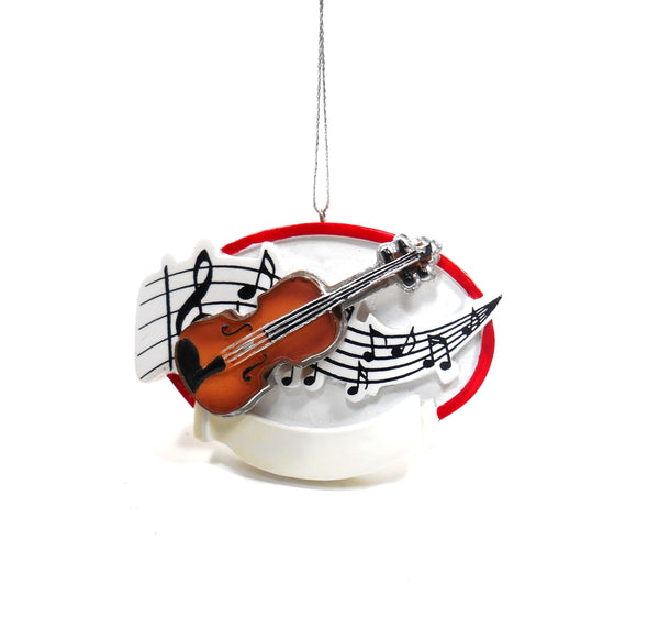 Midwest-CBK Violin Ornament in Resin 134797