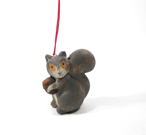 Brown Terra Cotta Squirrel Ornament by Midwest-CBK