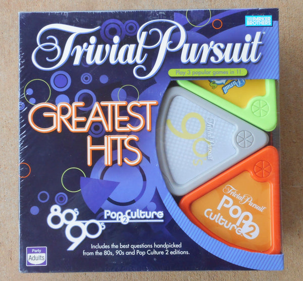 Trivial Pursuit Greatest Hits Board Game