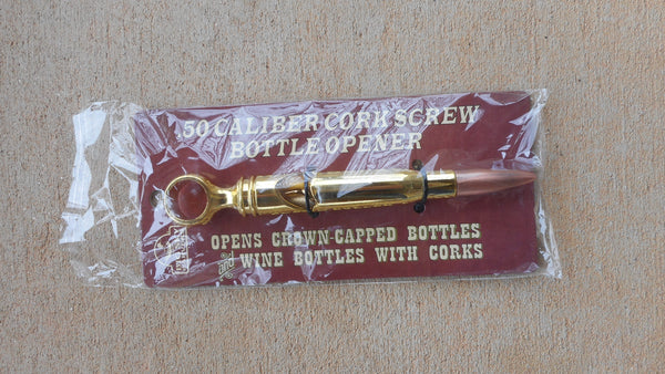 .50 Caliber Cork Screw Bottle Opener