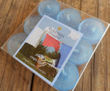 Copy of Colonial Candle SIMPLE BREEZE blue tealights 9 count in box