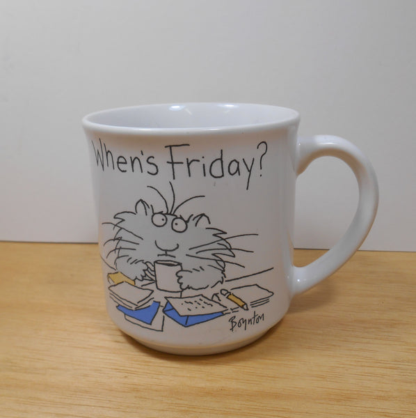 Sandra Boyton When's Friday Mug 12 oz