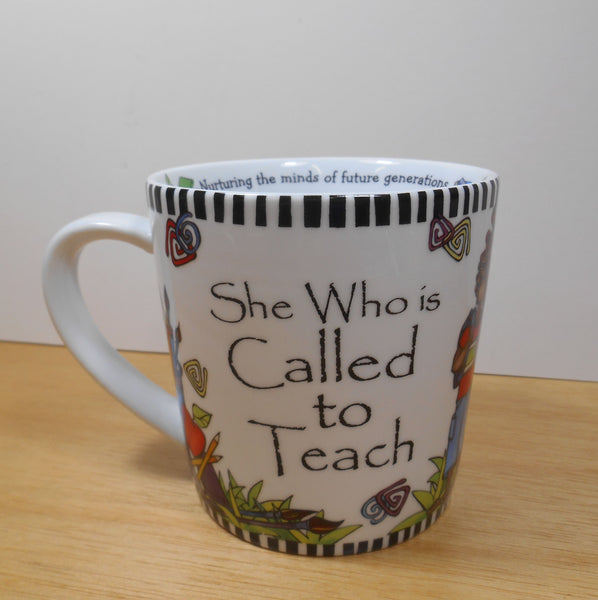 SUZY TORONTO She Who is Called to Teach Porcelain Coffee Mug by Midwest
