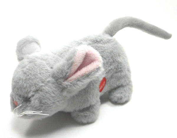 Ganz Grey Mini Mouse Plush Soft Spots - Easter Basket