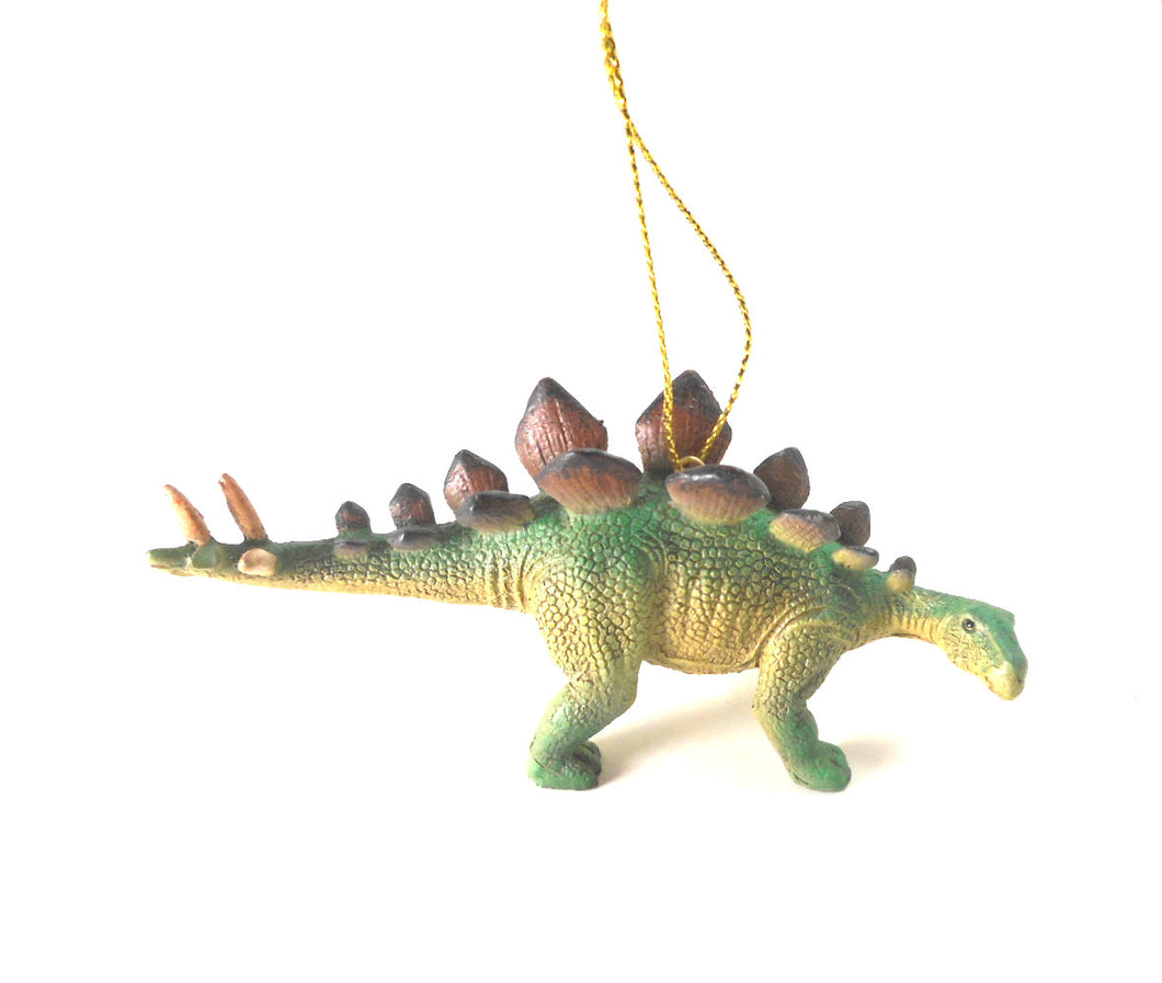 Green Stegosarus Dinosaur Ornament by Kurt Adler