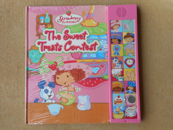 Strawberry Shortcake The Sweet Treats Contest sound board BOOK