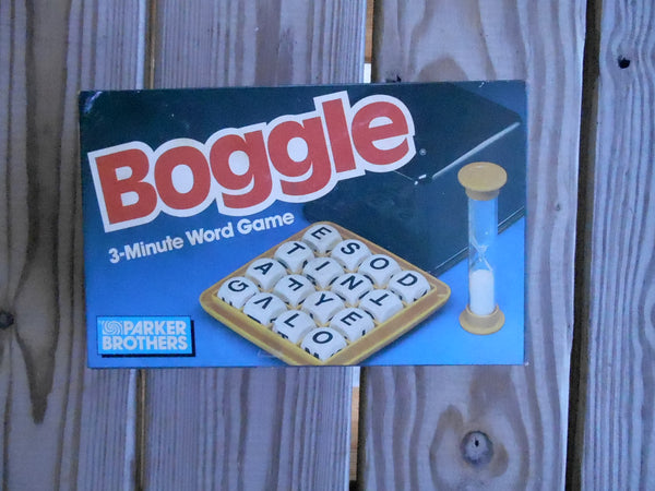 Boggle 1987 Board Game Pre-owned