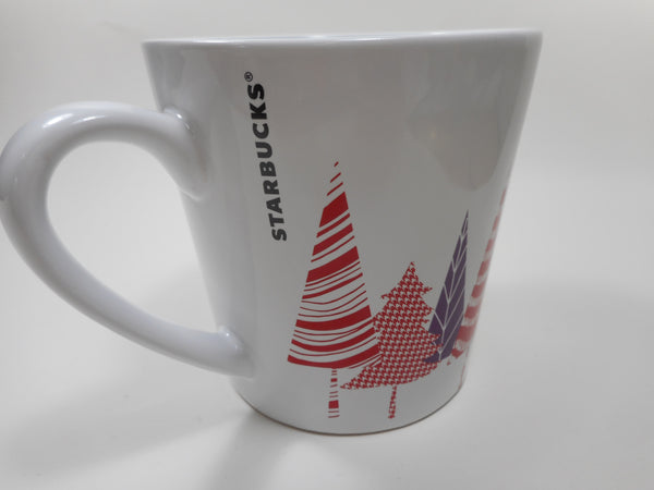 2017 Starbucks Trees Holiday Coffee Mug 14.2 oz
