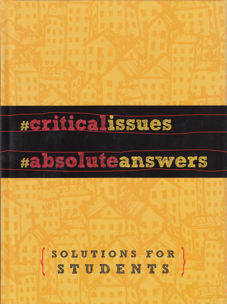 Critical Issues Absolute Answers Solutions For Students Hardcover Book
