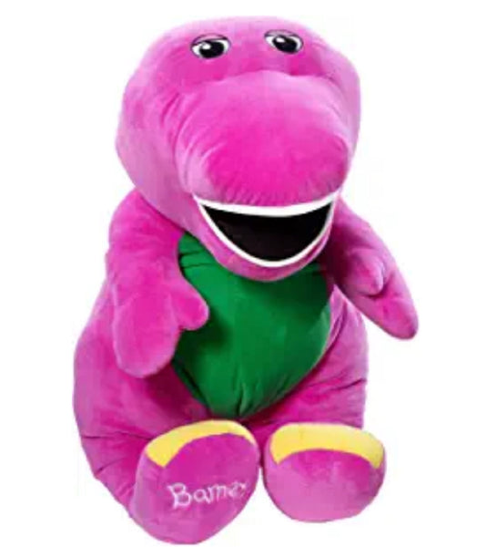 Fisher Price Speak n' Sing Jumbo Barney Plush New!