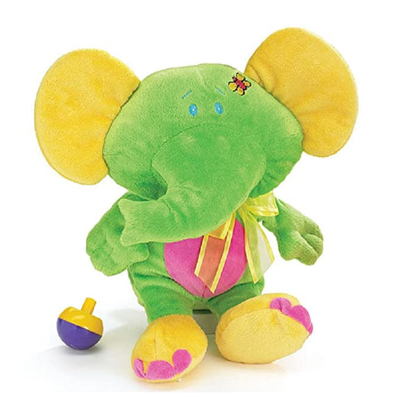 Baby Toy Green Elephant Plush