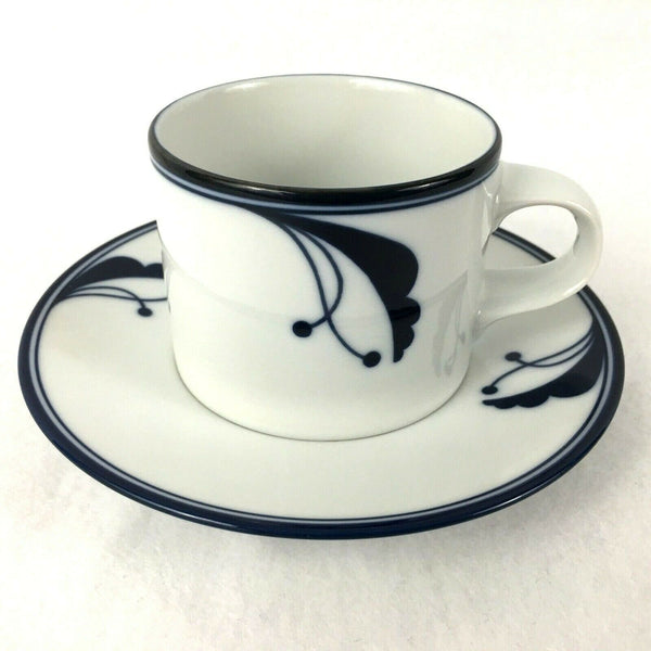 Dansk Flora Bayberry Portugal Coffee cup and saucer Tea Cup saucer set