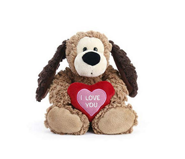 I love you DOG Dog Plush by Demdaco