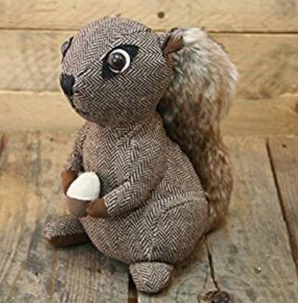 Plush Brown Squirrel Door Stop by Carousel Home