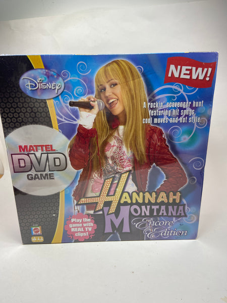 Mattel Hannah Montana DVD Game New