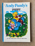 Andy Pandys Puppy Vintage Book 1972 very good hardcover EB