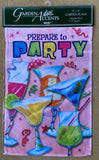 Ganz Pink Prepare to Party!  Premium Garden Flag 12 in by 18 inches