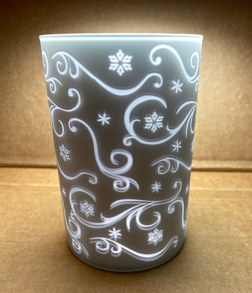 Snow Flake Glass Votive Holder by Midwest-CBK