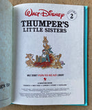 Walt Disney's Thumper's Little Sisters, Hardcover Fun to Read 1980's