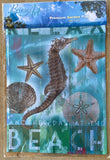 Breeze Art Another Day at the Beach Premium Garden Flag 12.5 in by 18 inches