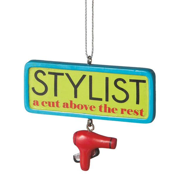 A Cut Above Stylist Christmas Ornament