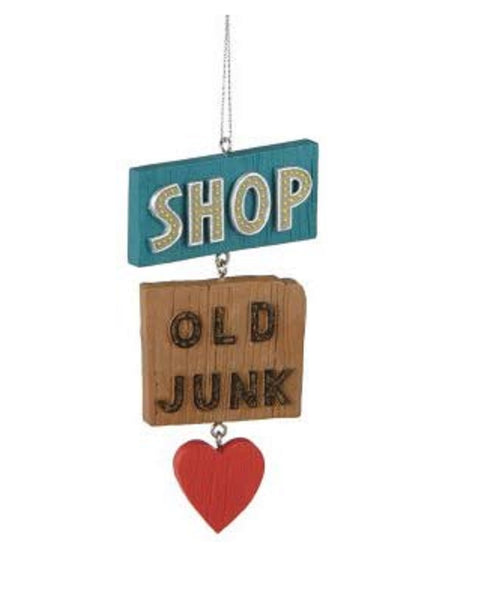 Shop Old Junk thrifter Christmas Ornament