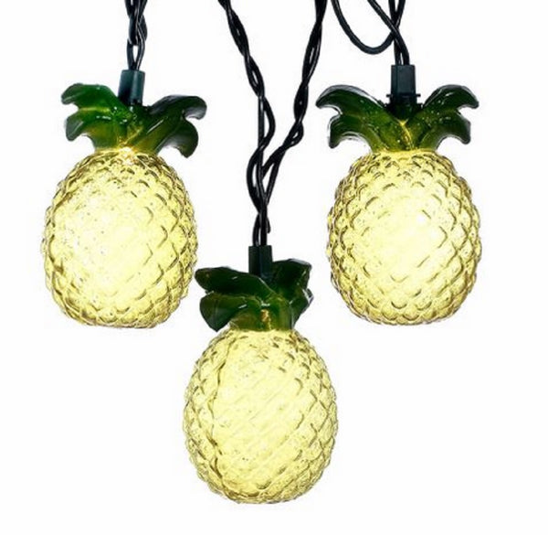 Kurt Adler Pineapple Party String Lights