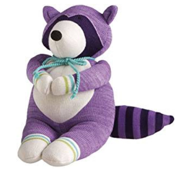 Rascal Raccoon Genuine Monkeez Knit Plush