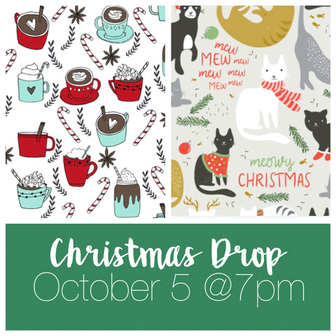 Hot Cocoa and Christmas Cats Drop - 10/5