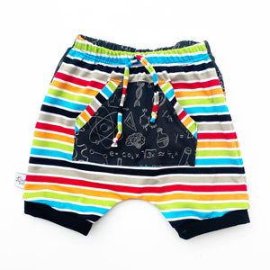 Elevated Shorts - Pocket Harem Shorts