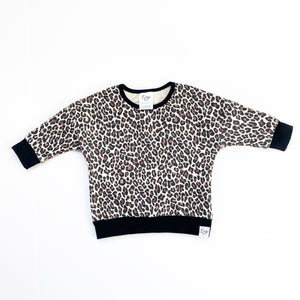 Fierce Animal Print Lounge Sweater - Ready To Ship