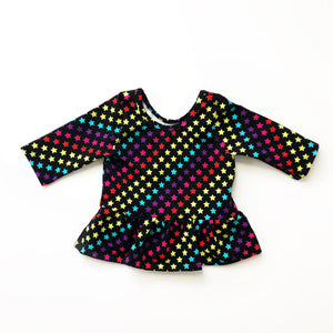 Rainbow Stars - Big Kid Sizes - 6/8/10