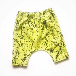Lemon-Lime Splatter - Big Kid Sizes - 6/8/10