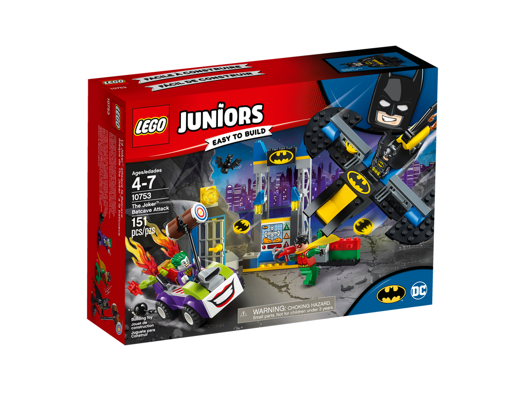 10753 The Joker™ Batcave Attack