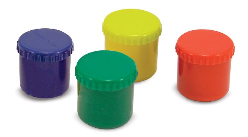 Finger Paint Set (4 pcs) - Red, Yellow, Blue, Green
