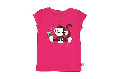 Wild Republic Monkey Pink Plain Top - Size 6