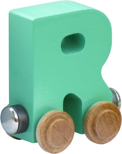 NameTrain Pastel Finish Letter Cars - R