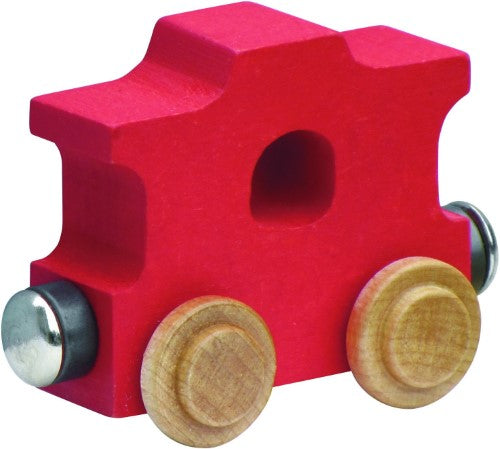NameTrain Bright Finish Letter Cars - Caboose