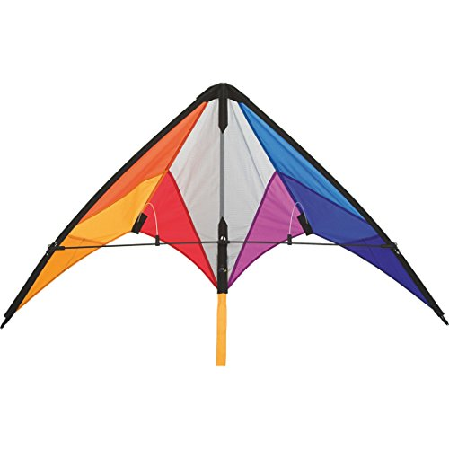 HQ Beach and Fun Sport Kite (Calypso II Rainbow)