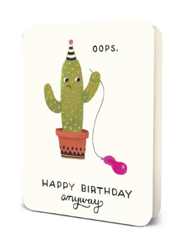 Deluxe Card Set: Oops Cactus