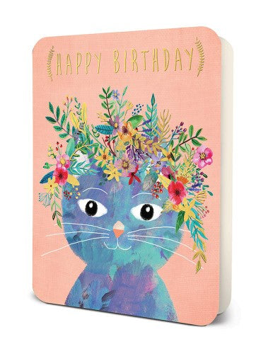 Deluxe Card Set: Happy Birthday Cat