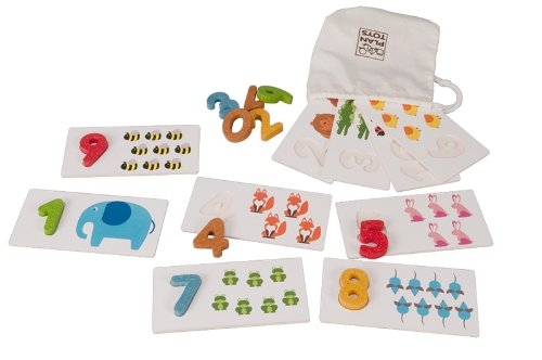 1-10 (Block numbers with picture cards)