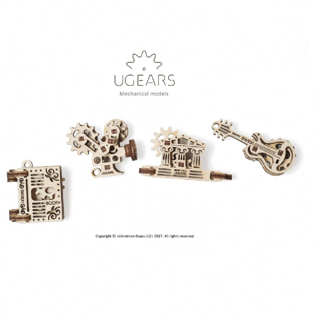 UGEARS: U-Fidget Creation